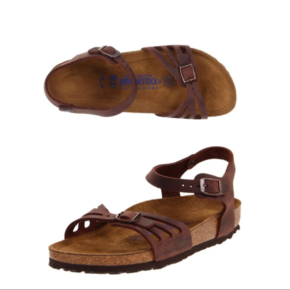 580880d06429 Birkenstock Shoes - RARE! Birkenstock Bali Soft Footbed Sandal Leather